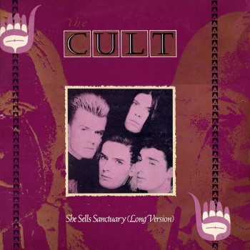 "The Cult 'She Sells Sanctuary' 12"" single cover"