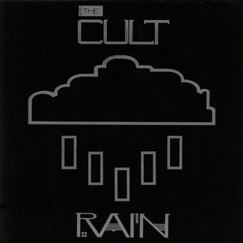 The Cult 'Rain' single cover