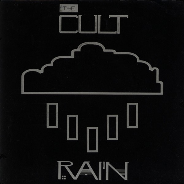 The Cult 'Rain' single cover