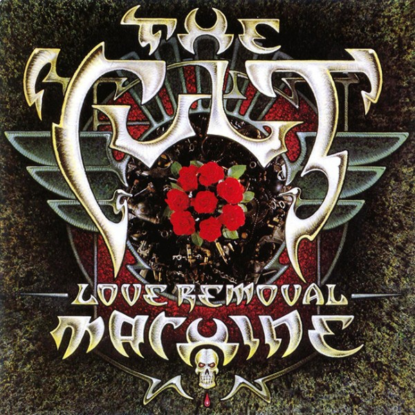 The Cult 'Love Removal Machine' single cover