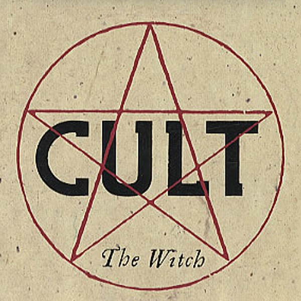 The Cult 'The Witch' single cover