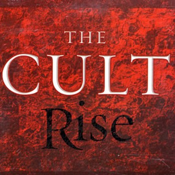 The Cult 'Rise' single sleeve artwork