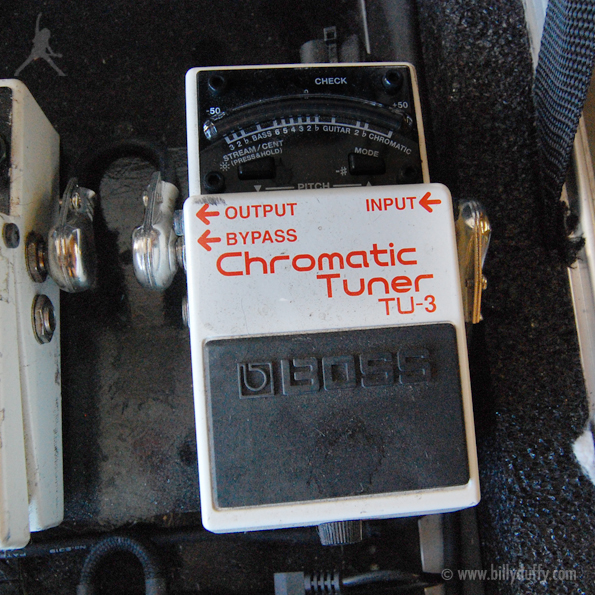 Billy Duffy's Boss TU-3 Tuner Pedal