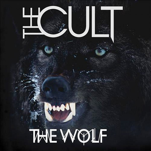 The Cult 'The Wolf' artwork