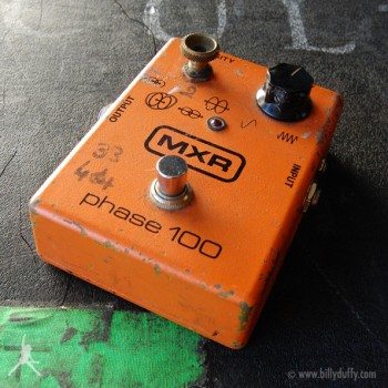 Billy Duffy's Original MXR Phase 100