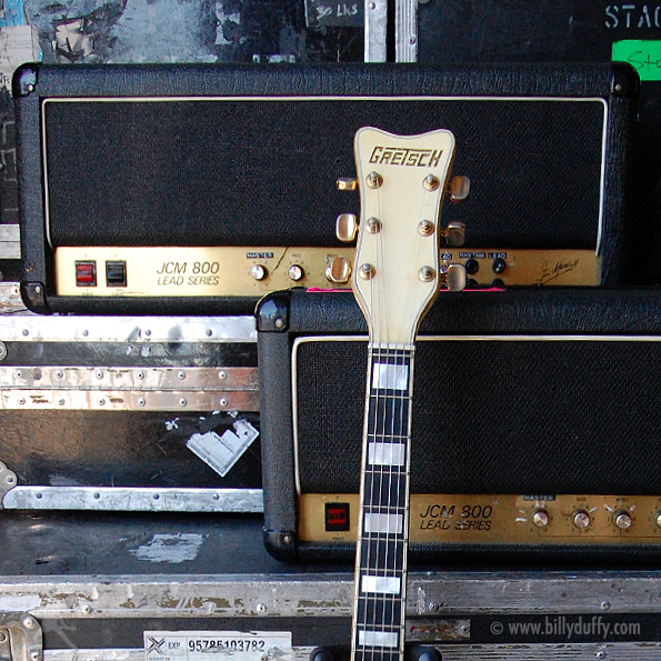 Billy Duffy's Marshall Amps