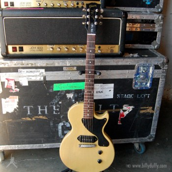 Billy Duffy's Gibson Les Paul Jnr TV Yellow