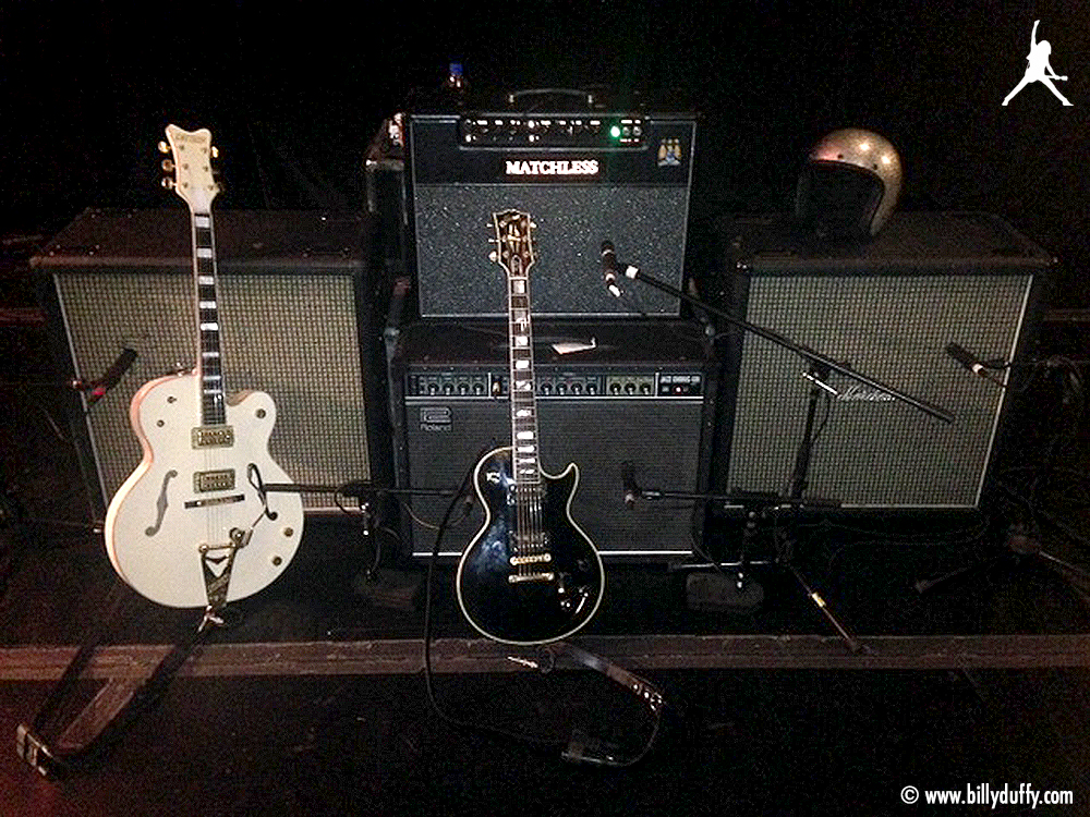 Billy Duffy Backline 2014