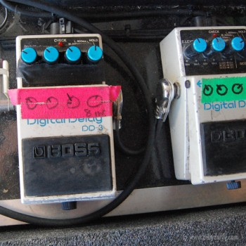 Billy's Boss DD-3 Digital Delay Pedal