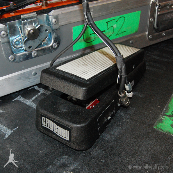 Billy Duffy's Cry Baby Wah Pedal