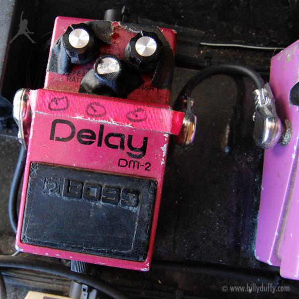 Billy Duffy's Boss DM-2 Delay Pedal