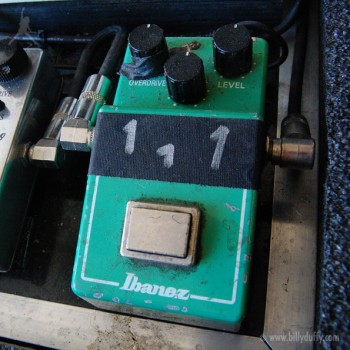 Billy Duffy's Ibanez Tube Screamer Pedal