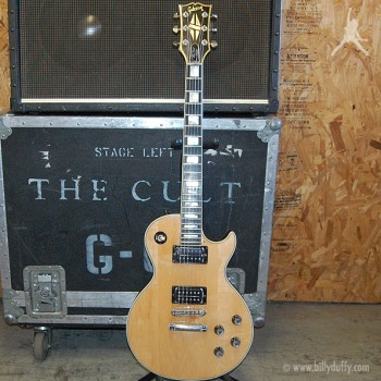 Billy Duffy's Les Paul Custom Wood Top 1979