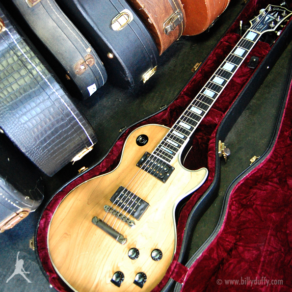 Billy Duffy's Gibson Les Paul Custom wood top 2000