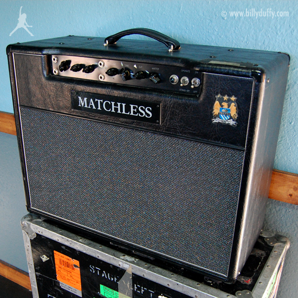 Billy Duffy's Matchless DC-30 Amplifier