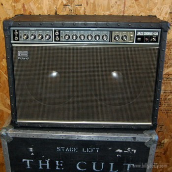 Billy Duffy's Roland JC-120 Amplifier