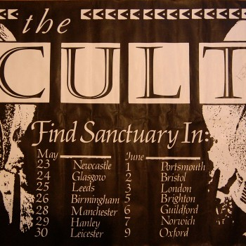 The Cult – 'Find Santuary' Tour Poster -1985