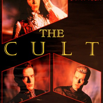The Cult – Japan Tour Poster – 24/25-09-1985