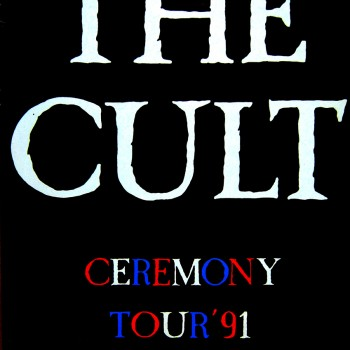 The Cult Gig Poster Munich 03-11-1991