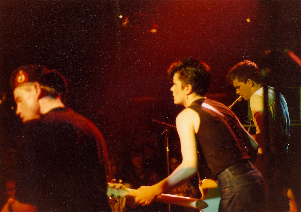 Onstage with Theatre of Hate 1982