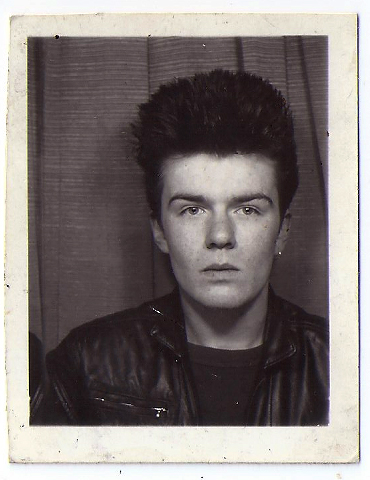 Billy Duffy Passport photo circa 1981