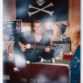 Billy in the studio in Vancouver – 1988