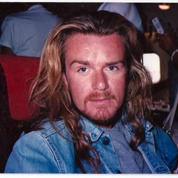Rockin the Jesus look – 1990