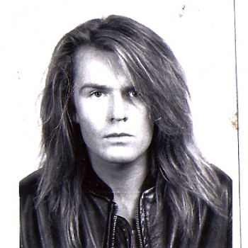 Billy's Passport Photo 1988