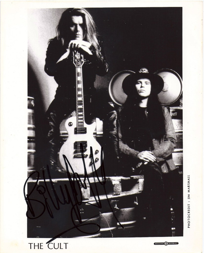 The Cult press photo from 1989 with Billy Duffy and Ian Astbury