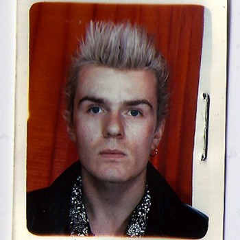 Billy Passport Pic 1985