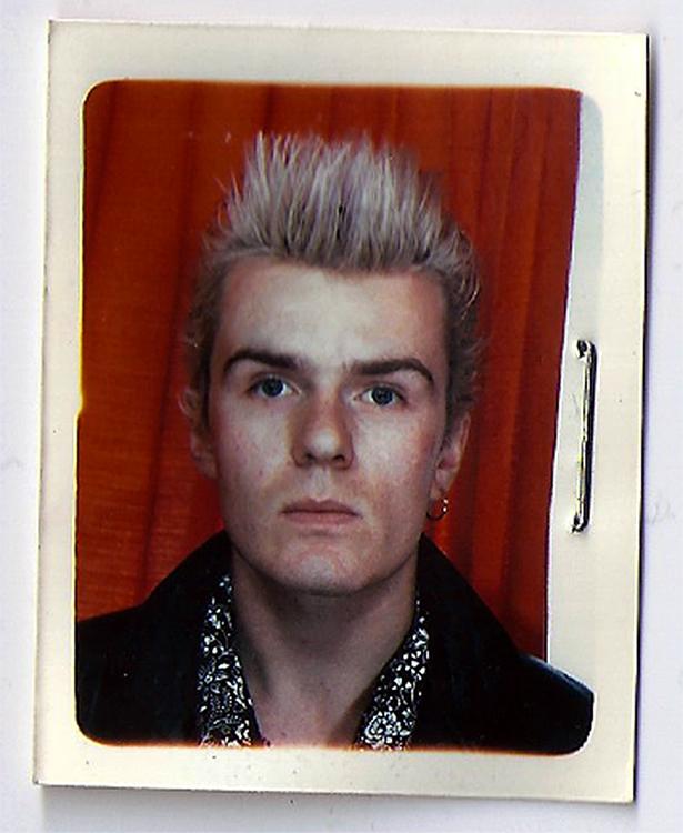 Billy Duffy Passport Pic 1985