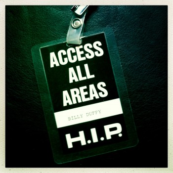 Billy's Laminate The Cult Japan Tour 09-1985