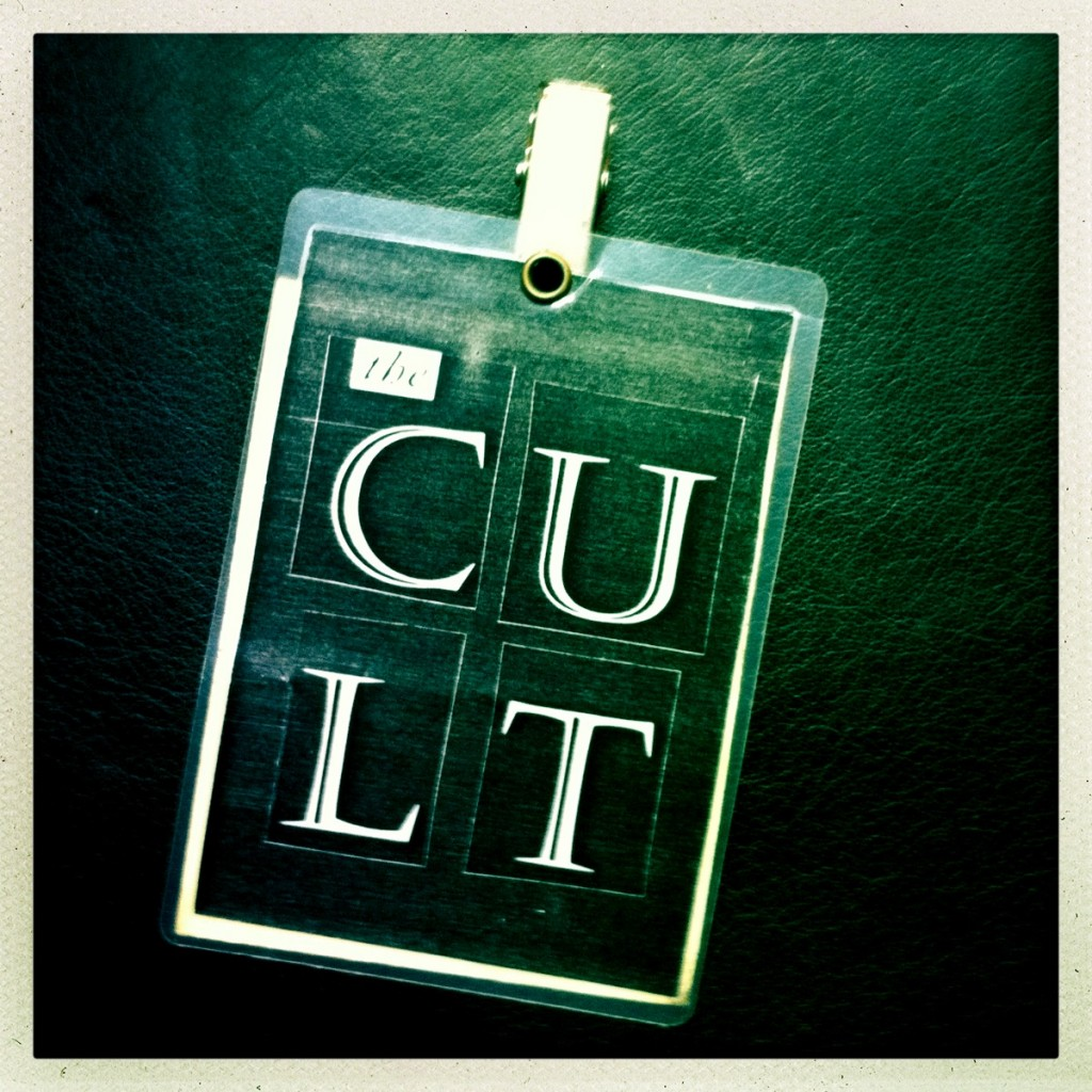 Billy Duffy's Laminate from The Cult Dreamtime Tour 1984