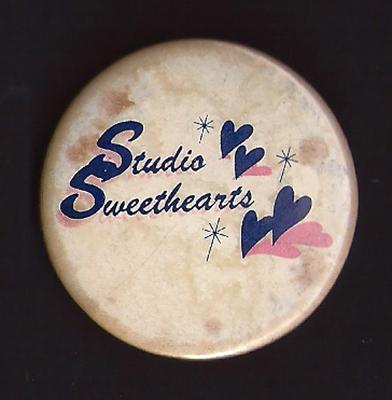 Billy Duffy's Studio Sweethearts Badge
