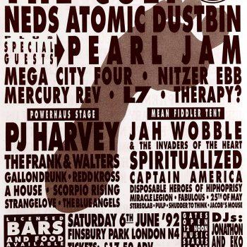 "Headlining ""In the park"" festival – 1992"