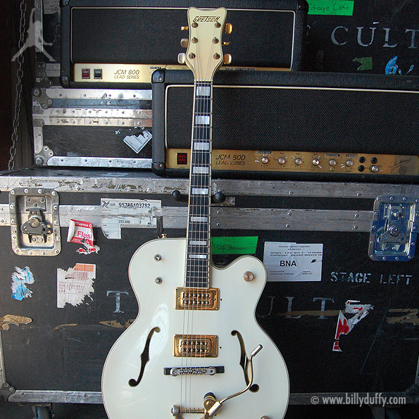 Billy Duffy's Gretsch 1974 White Falcon