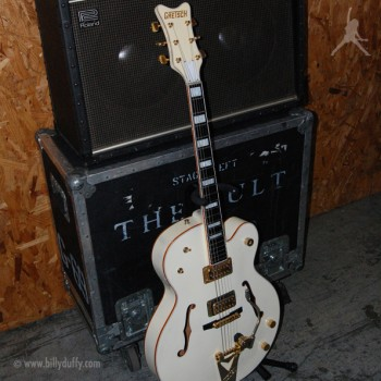 Billy Duffy's Gretsch 2003 White Falcon