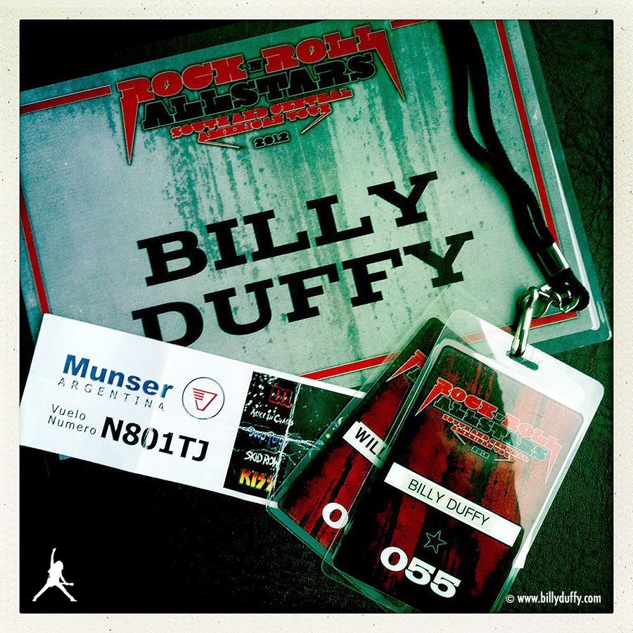 Billy's Rock n Roll All Stars Laminates from April 2012