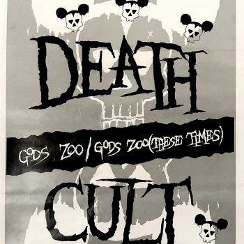 Printer's Proof Death Cult 'Gods Zoo' Poster