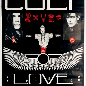 The Cult Love promo poster – 1985