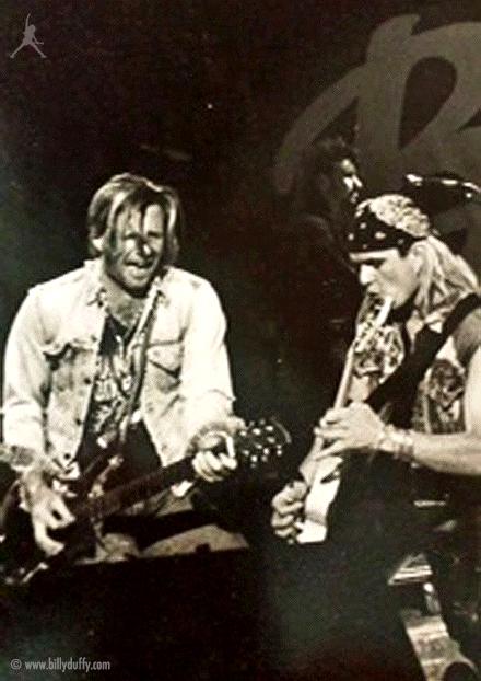 When Billy Duffy met Bob Rock in 1987