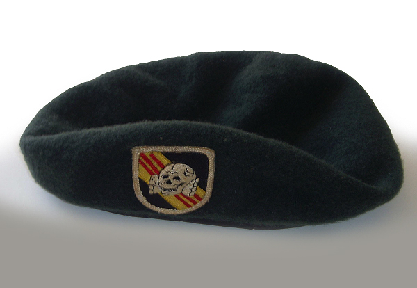 One of Billy's Military Beret's.