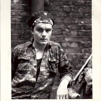 Billy in his Tiger Stripe Camo gear