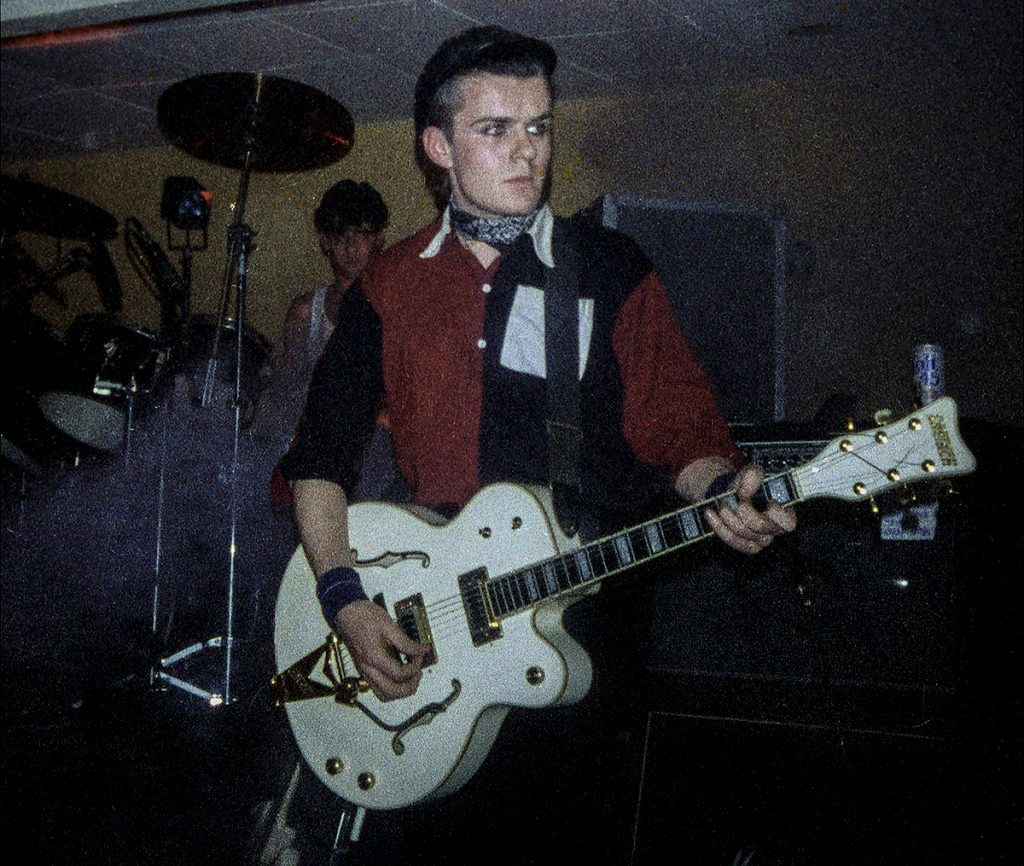 Billy Duffy Death Cult - 1983