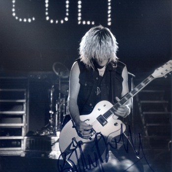 Live with The Cult in 1987