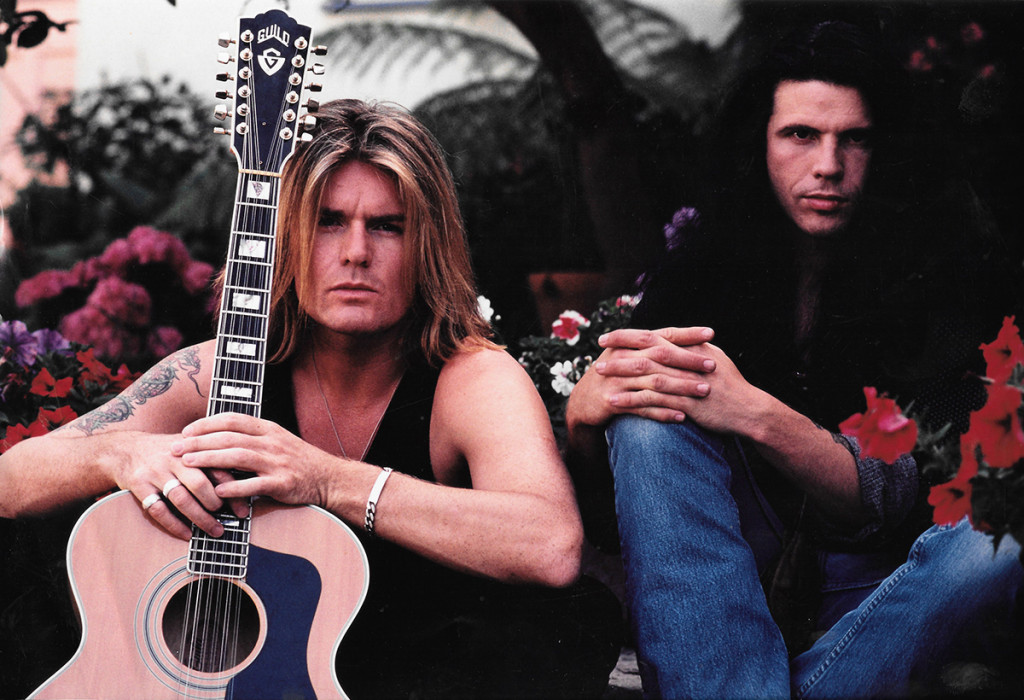 Billy Duffy & Ian Astbury's Ceremony Cover shot...