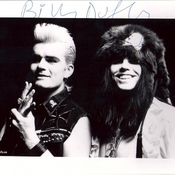 'Electric' press photo with Billy and Ian