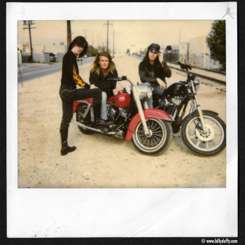 'Sonic Temple' Era Photo Shoot Polaroid