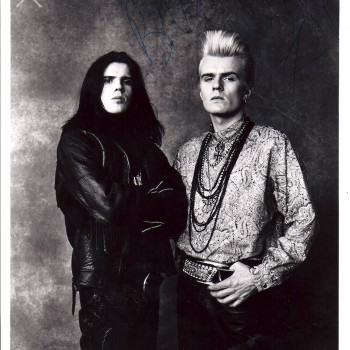 Billy and Ian 'Love' Press Photo