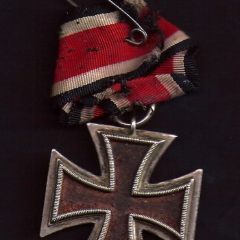 Billy's 'Love' Iron Cross